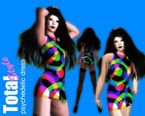 60's pschedelic dress v2 5x4