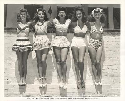 50's Swimwear