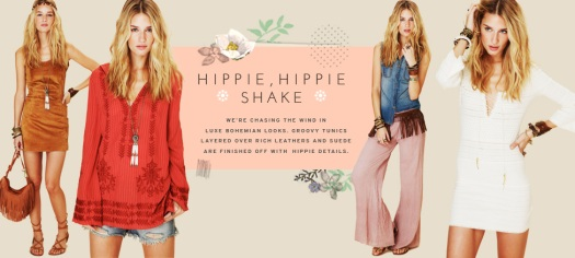 Hippie Hippie Shake at Free People