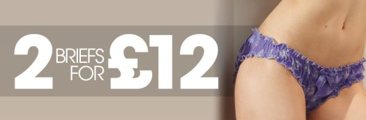 2 briefs for £12
